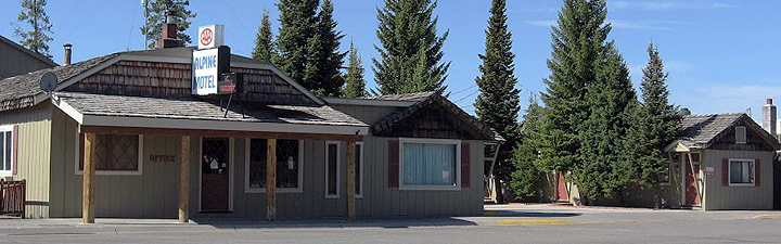 Alpine Motel - West Yellowstone, MT