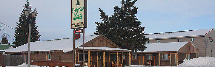 Evergreen Motel - West Yellowstone, MT